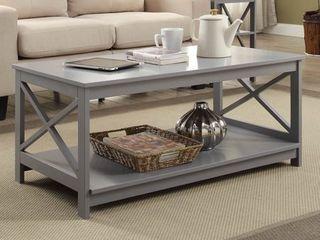 Oxford Coffee Table Gray Medium   Johar Furniture