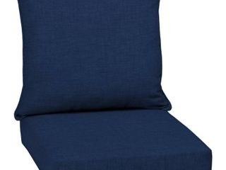 Arden Selections Sapphire leala Texture Outdoor Deep Seat Cushion Set   46 5 in l x 24 in W x 5 75 in H MSRP  68 49
