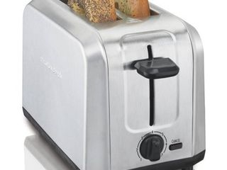 Hamilton Beach Brushed Stainless Steel Toaster Model# 22910