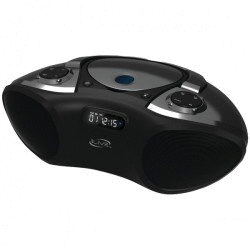 iLive IBC233B Bluetooth 2.0 Boombox with CD/AM/FM