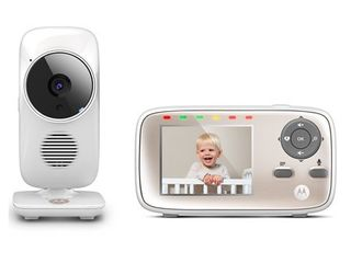 Motorola MBP667CONNECT Video Baby Monitor with Wi-Fi Viewing, 2.8