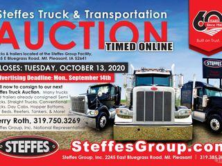 Steffes Truck & Transportation Auction