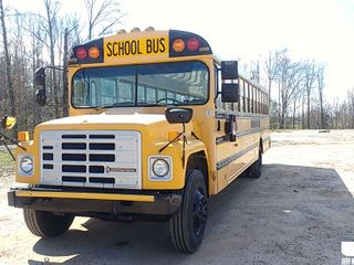 1988 INTERNATIONAL 1753 VIN: 1HVNLZRLDKH83970 SCHOOL BUS