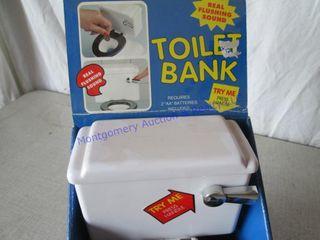 TOIlET BANK