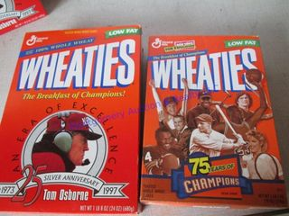 WHEATIE BOXES