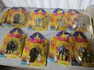 CONEHEADS ACTION FIGURES