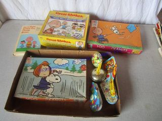 PEANUTS CHARlEY BROWN ITEMS