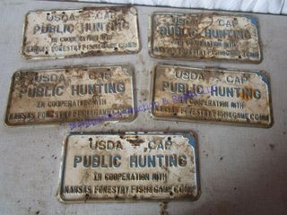 KANSAS PUBlIC HUNTING SIGNS