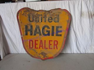 UNITED HAGIE SIGN