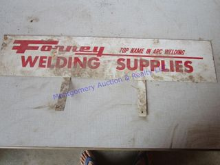 FORNEY WElDING SIGN