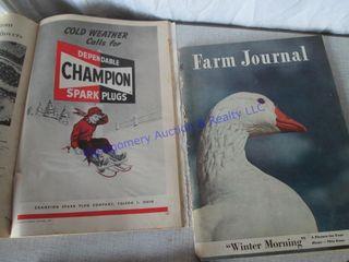 1950 S FARM MAGAZINES
