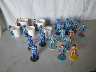 ACTION FIGURES 1987 BURGER KING CUPS