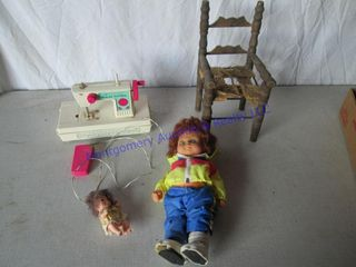 MCCAllS TOY SEWING MACHINE   DOll