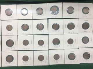 30- Wheat Cents/Penny