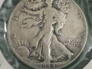 1944 Silver Walking Liberty Half