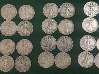 26- Silver Half Dollars