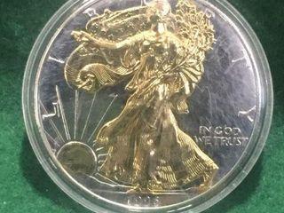 1996 Silver American Eagle $1