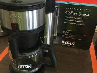 UNUSED 10CUP BUNN COFFEE BREWER