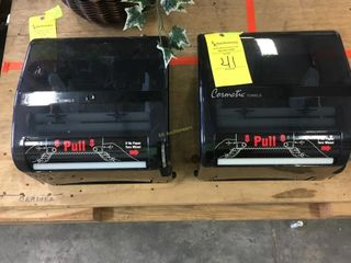 (2) UNUSED COMMERCIAL PAPER TOWEL DISPENSERS