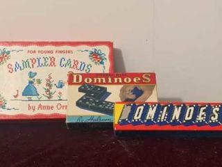 Sampler Cards & Games