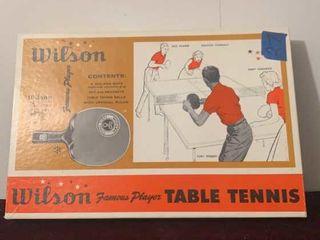 Wilson Table Tennis Set