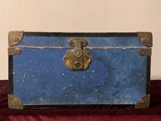 Small Wooden Doll Chest