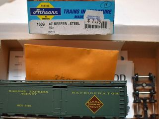 Railway Express REX 6119 Reefer Athearn HO Kit