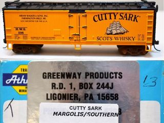 Cutty Sark Whiskey HWS 296 Reefer Greenway HO
