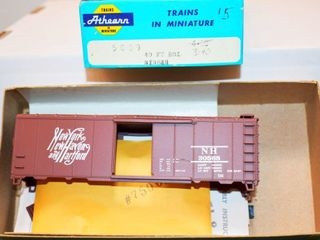 New Haven 30565 40ft Box Car Kit Athearn HO