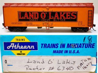 Land O'Lakes 6340 Reefer Mantua HO
