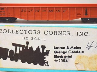 Boston & Moaine 9076 Gondola Collectors Corner HO