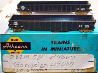 Boston & Maine 9067 &9007 Gondolas 2 Pack HO