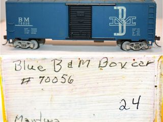 Boston & Maine 70056 Box Car Mantua HO