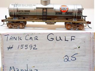 Gulf 15592 Tank Car Mantua HO