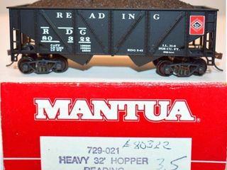 Reading 80322 Hopper Mantua HO