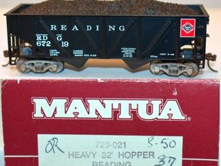 Reading 67219 Hopper Mantua HO