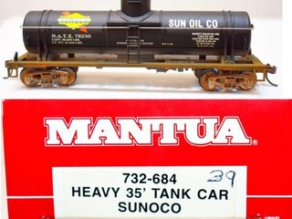 Sunoco 78230 Tank Car Mantua HO