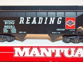 Reading 86081 Hopper Mantua HO