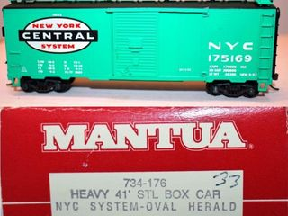 New York Central 175169 Box Car Mantua HO