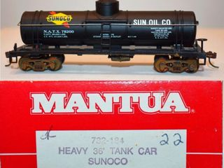 Sunoco 78200 Tank Car Mantua HO