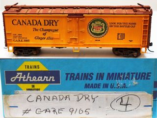Canadian Dry 9105 Wood Reefer Athearn HO