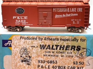 Pittsburgh & Lake Erie 5290 Box Car Athearn ,HO