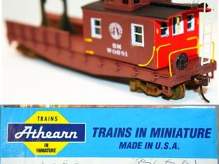 Boston & Maine W0681 Boom Tender Athearn HO