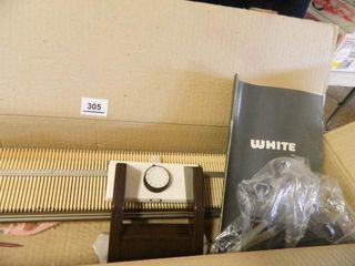 White Easy Knitter  Accessories