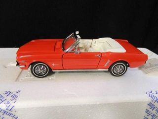 19641 2 Ford Mustang Convertible