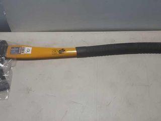 Metallo small axe, fiberglass handle rubber grip