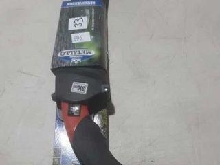 Metallo 13'' pruning saw, curved blade, hard case