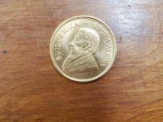 1OZ GOLD KRUGERRAND 1975