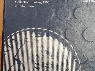 BOOK OF ROOSEVELT DIMES 1965-1982