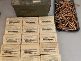 (450RDS) .30 Army Full Patch Ammo